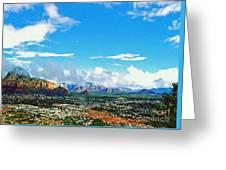 West Sedona Greeting Card
