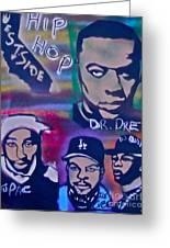 West Side Hip Hop Greeting Card