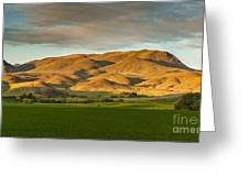 West Side Of Squaw Butte Greeting Card