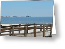 West Side Pier 1 Greeting Card