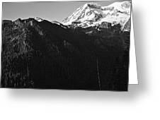 West Slope Mt. Rainier Greeting Card