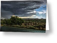 West Texas Storm Greeting Card