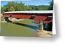 West Union Covered Bridge 2 Greeting Card