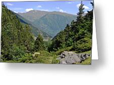 West Valley Andorra Greeting Card