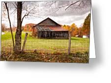 West Virginia Barn In Fall Greeting Card