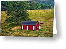 West Virginia Oil Greeting Card