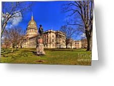West Virginia State Capitol Building Greeting Card