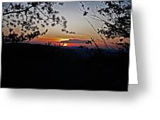 West Virginia Sunset 2 Greeting Card