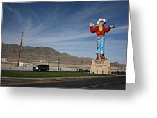 West Wendover Nevada Greeting Card by Frank Romeo