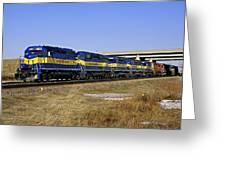 Westbound Train Greeting Card