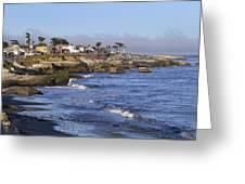 Westcliff Drive - Santa Cruz - California Greeting Card