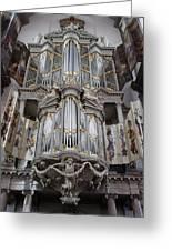 Westerkerk Organ In Amsterdam Greeting Card