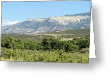Western Colorado Greeting Card