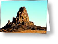 Western Usa Butte Greeting Card