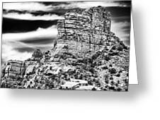 Western View Greeting Card by John Rizzuto