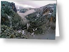 Western Yosemite Valley Greeting Card by Bill Gallagher