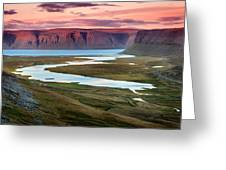 Westfjords Greeting Card