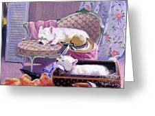 Westies Home Greeting Card