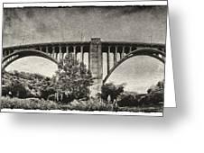 Westinghouse Bridge Pano Greeting Card
