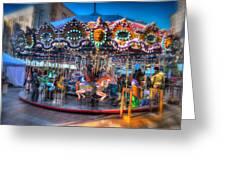 Westlake Carousel Greeting Card