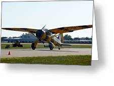 Westland Lysander Greeting Card