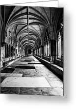 Westminister Abbey Cloister Greeting Card