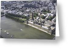 Westminister, London Greeting Card