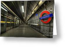 Westminster 2.0 Greeting Card