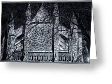 Westminster Abbey North Transept Greeting Card