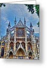 Westminster Abbey - North Transept Greeting Card by Skye Ryan-Evans