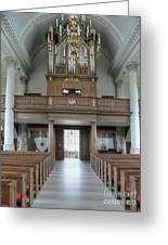 Westminster College Chapel Greeting Card by David Bearden