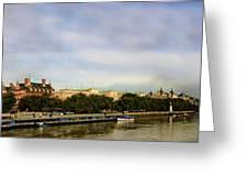 Westminster Panorama Greeting Card