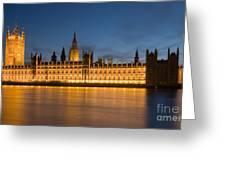 Westminster Twilight II Greeting Card