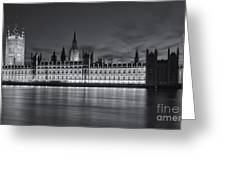 Westminster Twilight Iv Greeting Card