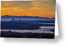 Gateway To Seattle Greeting Card