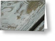 Wet Deck Greeting Card
