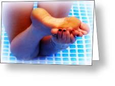 Wet Feet 2 Greeting Card