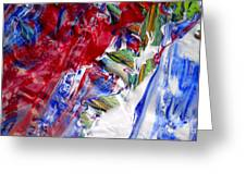 Wet Paint 60 Greeting Card