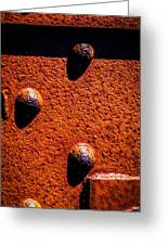 Wet Rivets  Greeting Card
