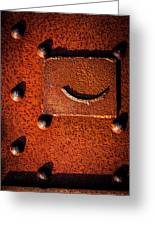 Wet Rivets Number Nine Greeting Card