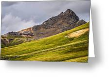Wetterhorn Peak Greeting Card