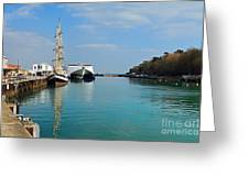 Weymouth Harbour Greeting Card