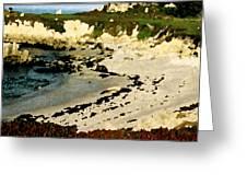 Whale Rock Beach Greeting Card