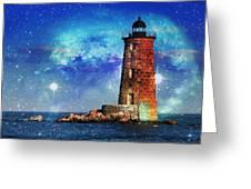 Whaleback Lighthouse Greeting Card