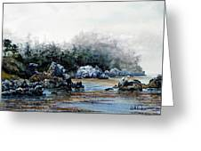Whalers Cove Greeting Card