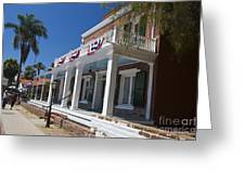 Whaley House Old Town San Diego Greeting Card