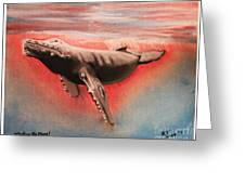Whaling No More Greeting Card
