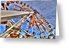 Wharf Wheel Greeting Card