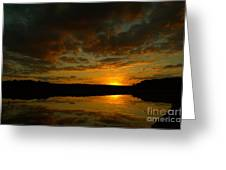 What A Sunset Greeting Card