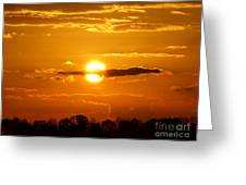 What Do You See Sunset Greeting Card